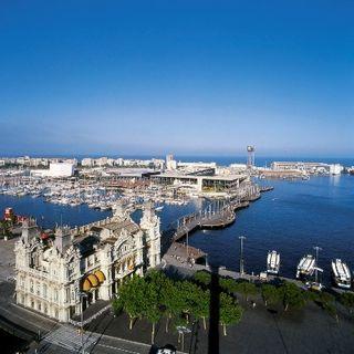 A bela arquitetura da capital da Catalunha
