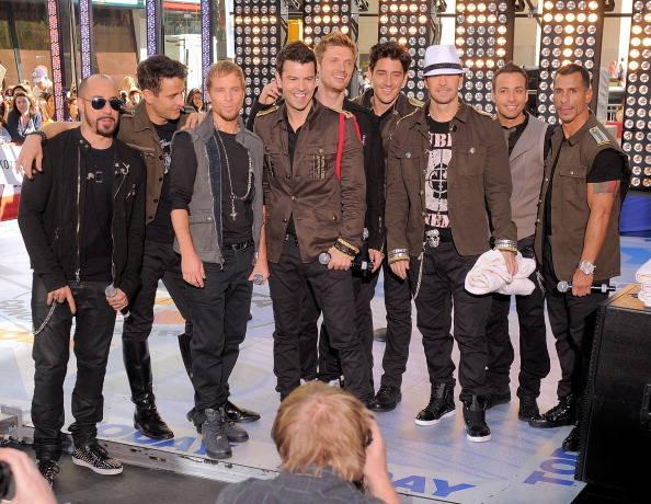 Backstreet Boys e New Kids On The Block se apresentam juntos em Nova York