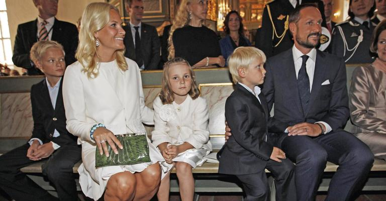 Realeza celebra em Oslo