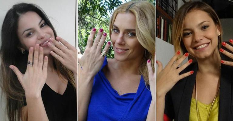 Os esmaltes das famosas nas novelas 'Fina Estampa' e 'A Vida da Gente'