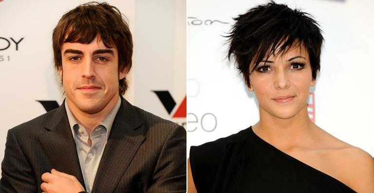 O piloto Fernando Alonso e a cantora Rachel del Rosario estavam juntos desde 2005