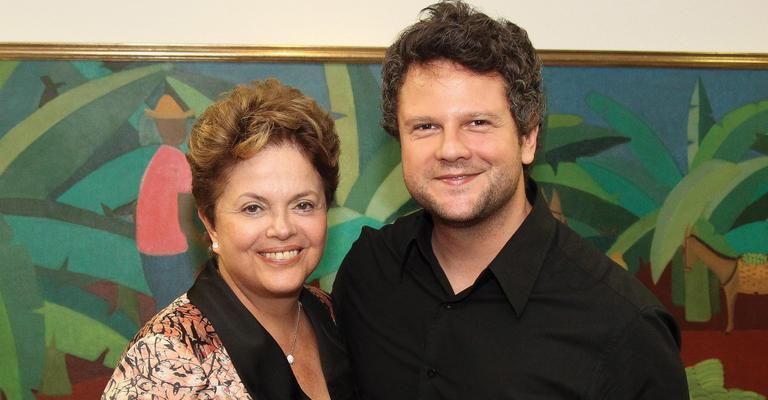 Selton Mello exibe o seu longa em Brasília e é recebido por Dilma Rousseff
