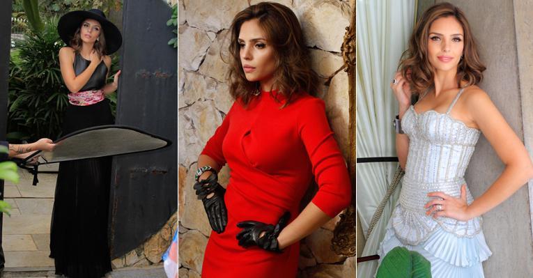 Carol Celico faz ensaio inspirado nas divas de Hollywood