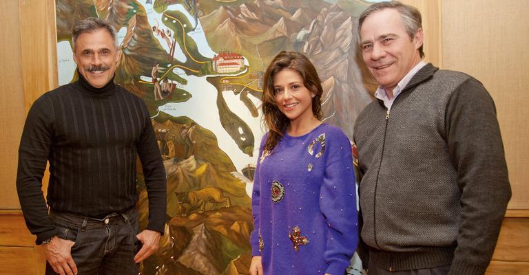 Em Villa La Angostura, Oscar Magrini e Priscila Sol elogiam a cidade