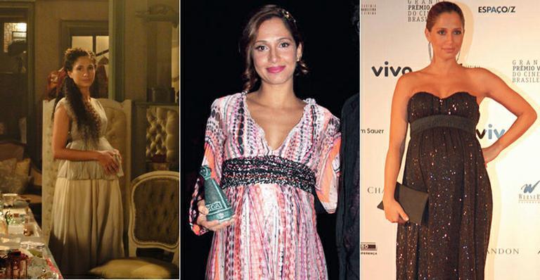 Camila Pitanga relembra sua gravidez