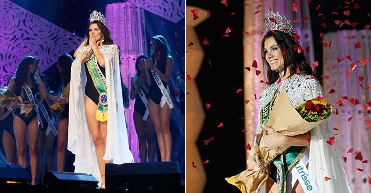 A gaúcha Gabriela Markus é coroada Miss Brasil 2012