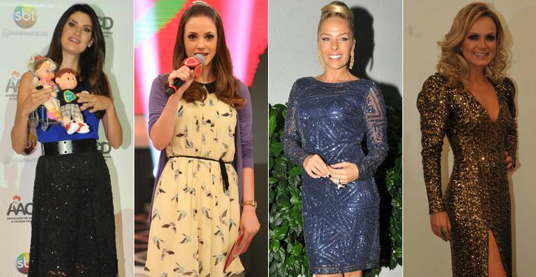 Veja os looks dos famosos no Teleton 2012