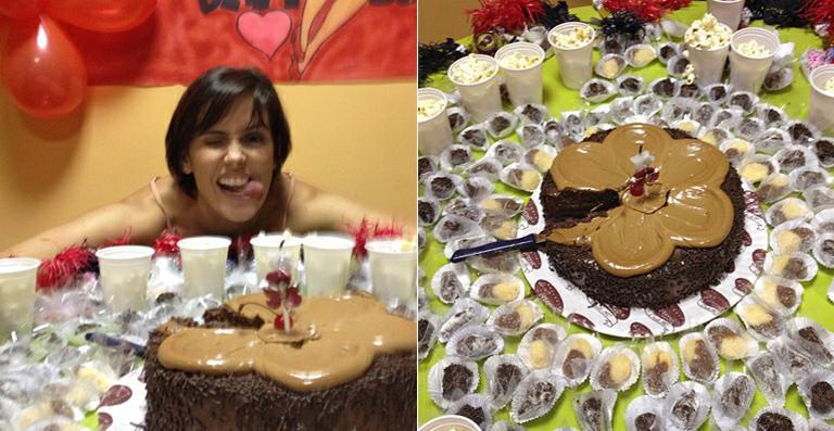 festa de aniversário surpresa nos bastidores de Louco por Elas