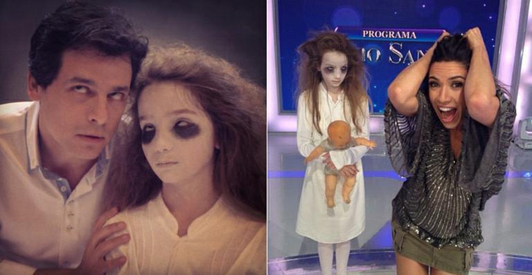 'Menina Fantasma' é tietada no SBT