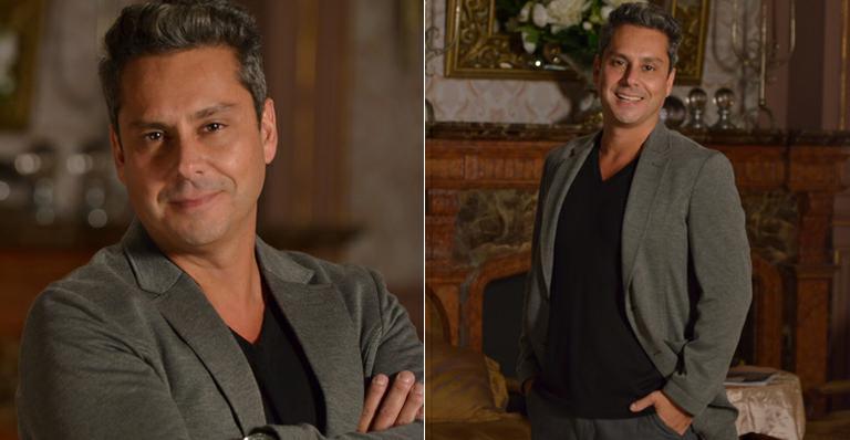 Alexandre Nero se inspira em ator italiano na novela 'Salve Jorge'