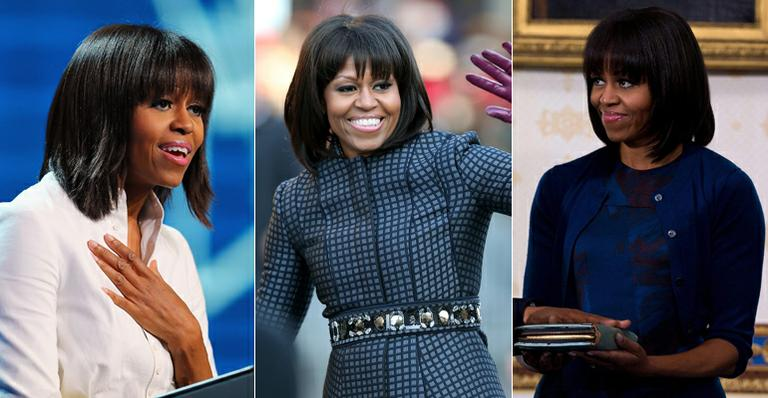 Michelle Obama cortou a franja para 'radicalizar' em meio à crise da meia-idade