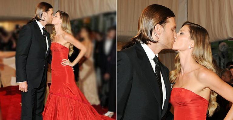 Gisele Bündchen e outros famosos celebram o Valentine's Day