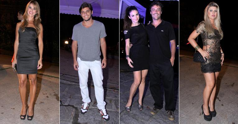 Famosos prestigiam festa promovida por Wolf Maya no Rio