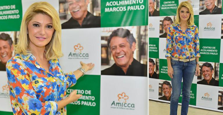 Antonia Fontenelle inaugura o Centro de Acolhimento Marcos Paulo no Rio de Janeiro