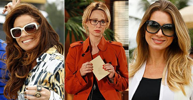 Helô (Giovanna Antonelli), Juliana (Mariana Ximenes) e Antonia (Letícia  Spiller 0c0a2b5cfc