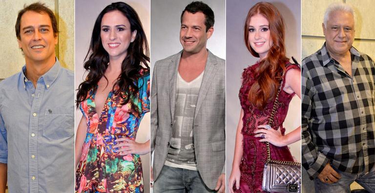 Elenco de 'Amor à Vida' apresenta a novela na Globo