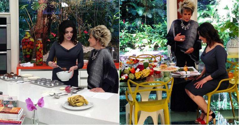 Aprenda a fazer o muffin de chocolate de Nigella Lawson ensinou no programa da Ana Maria Braga