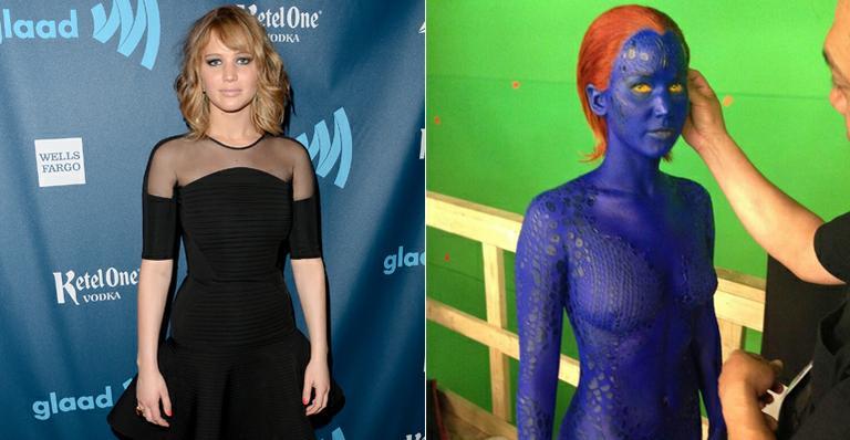 Veja a primeira foto de Jennifer Lawrence como Mística no filme 'X-Men: Days of Future Past'