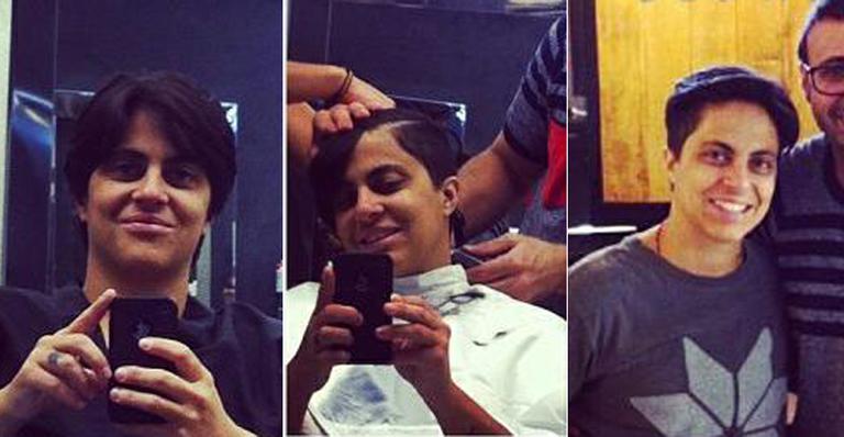 Thammy Miranda corta o cabelo e mostra novo look