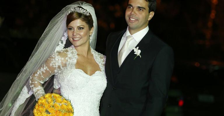 Bárbara Borges e Pedro Delfino
