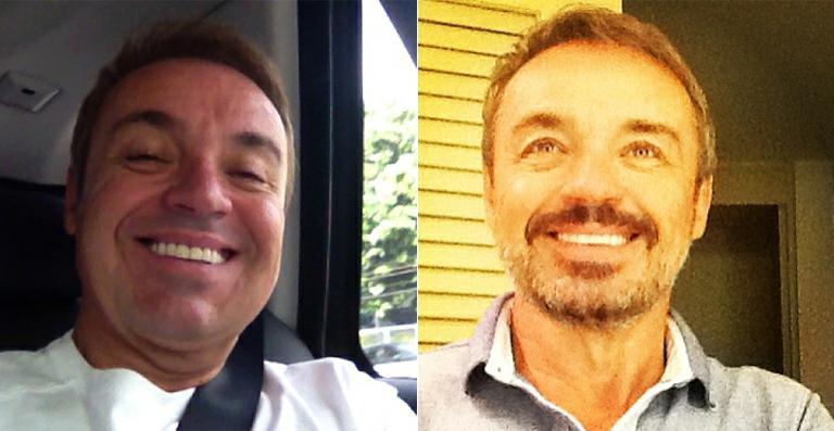Longe da TV, Gugu Liberato aparece barbudo na internet