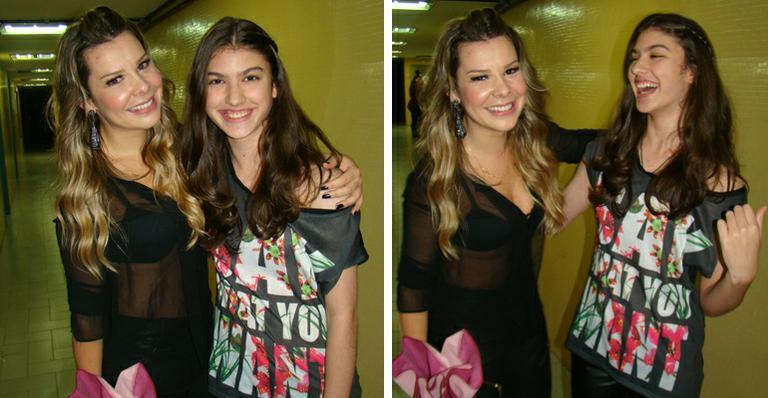 Giovanna Grigio e Fernanda Souza