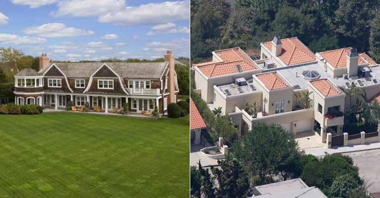 Casas dos famosos conhe a as mans es de 30 estrelas for Fotos casas famosos