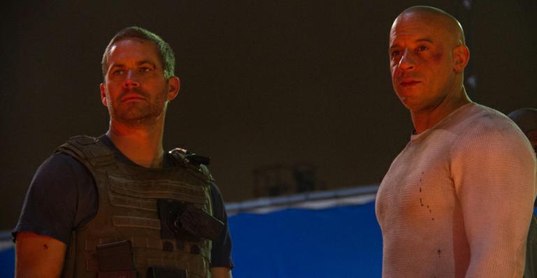 Vin Diesel divulga foto da última cena que gravou com Paul Walker