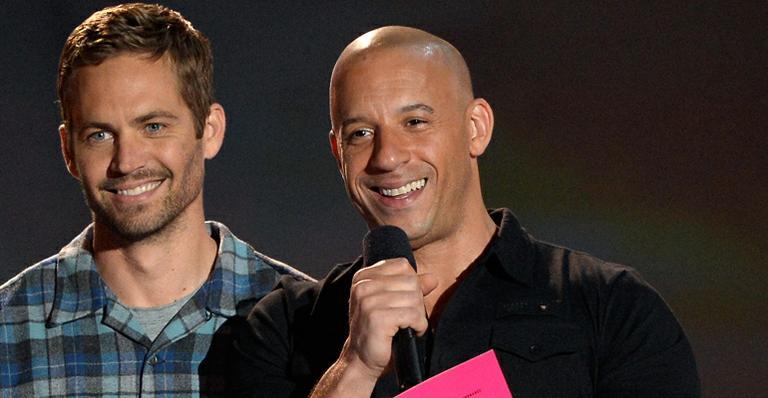 Vin Diesel mostra vídeo de bastidores com Paul Walker: 'Sinto sua falta'