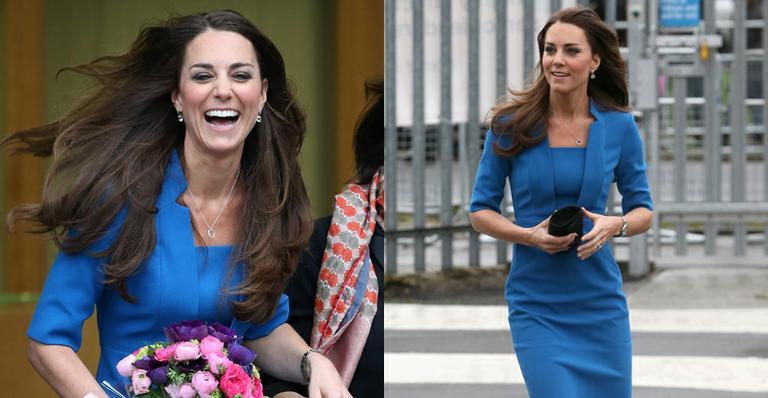 Boa ação: Kate Middleton visita escola na Inglaterra