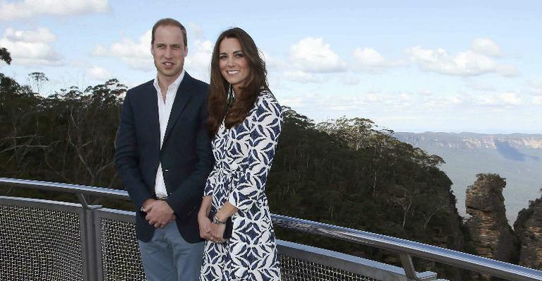 Vestido de Diane von Furstenberg esgota após Kate Middleton usá-lo na Austrália