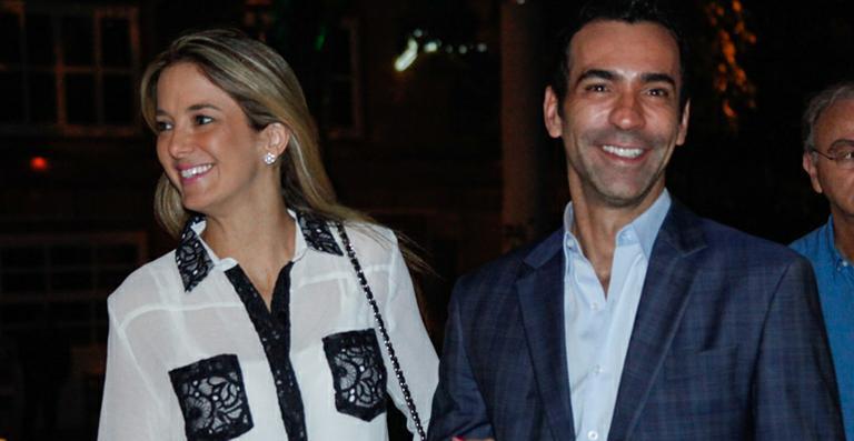 Aniversário de namoro: Ticiane Pinheiro se declara para César Tralli