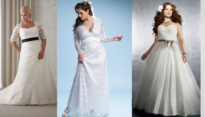 Veja as tendências de vestidos para noivas plus size