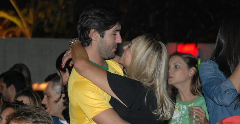Susana Vieira e Sandro Pedroso reatam o namoro