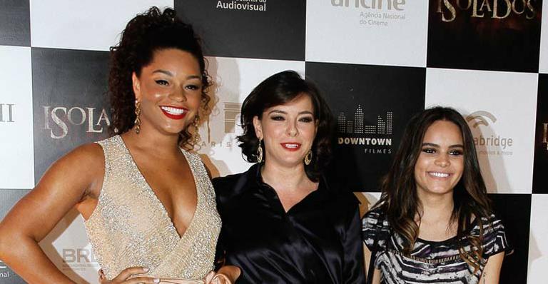 Trio poderoso na tela: Juliana Alves, Regiane Alves e Carol Macedo