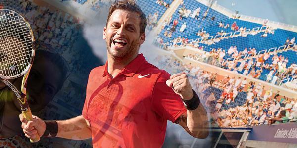 Henri Castelli realiza sonho de jogar no US Open