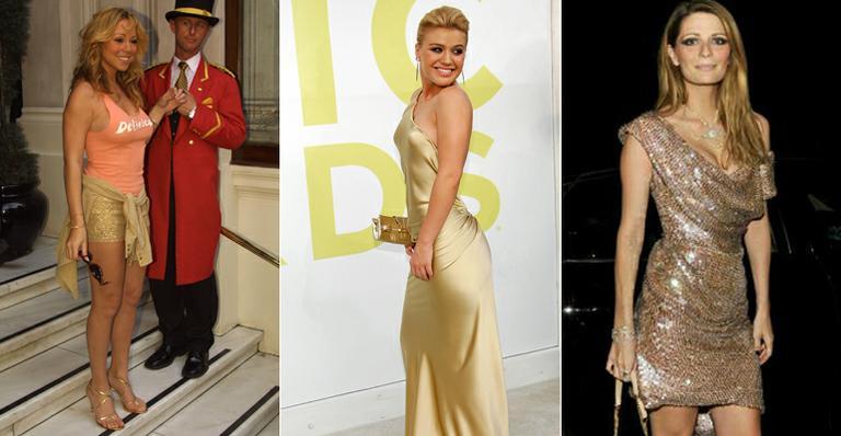 Veja 10 famosos que engordaram, como Kelly Clarkson e Mariah Carey