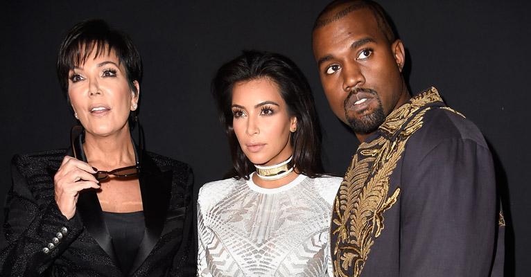Mãe de Kim Kardashian proíbe a filha de se separar de Kanye West, diz site