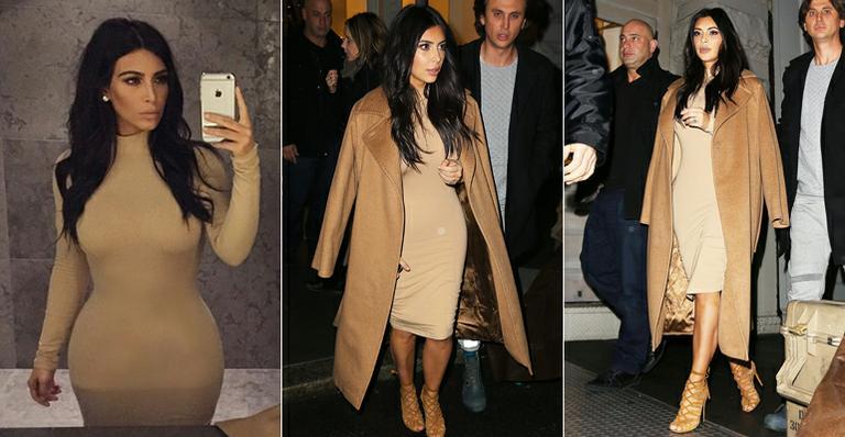 Kim Kardashian usa vestido de R$ 50 comprado na internet