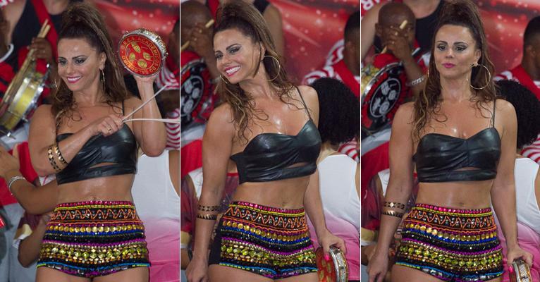 Viviane Araújo revela ter perdido 5kg para brilhar na Sapucaí