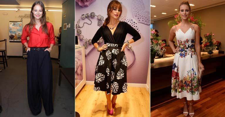 7 tendências de moda de Paolla Oliveira, protagonista de 'Felizes para Sempre'?