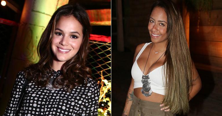 Bruna Marquezine se declara para Rafaella, irmã de Neymar: 'Te amo Muito'