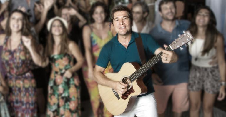 Daniel faz show exclusivo na Ilha de CARAS