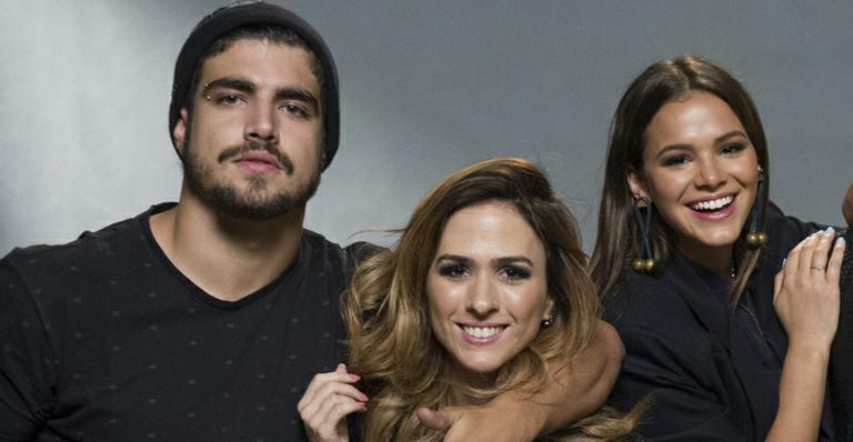 Vídeo: Caio Castro derruba Tatá Werneck em luta nos bastidores de novela
