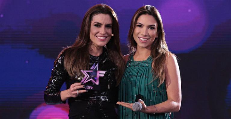 A apresentadora do 'Bake Off Brasil' soltou a voz no programa comandado por Patricia Abravanel no SBT