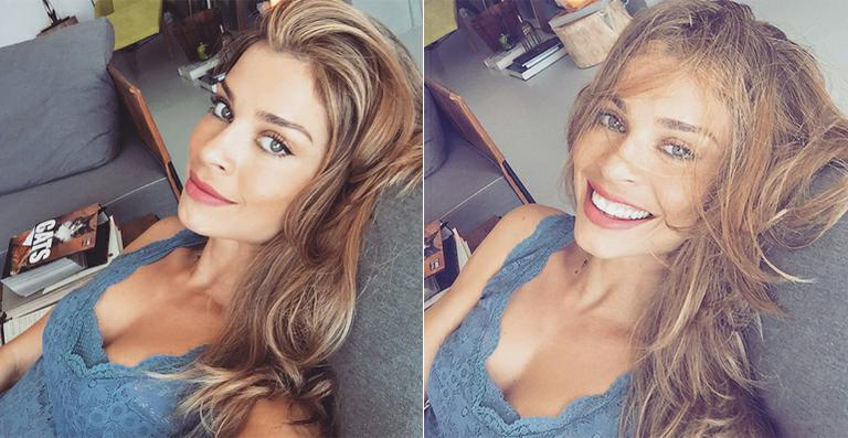 Grazi Massafera exibe sua beleza em selfies no Instagram