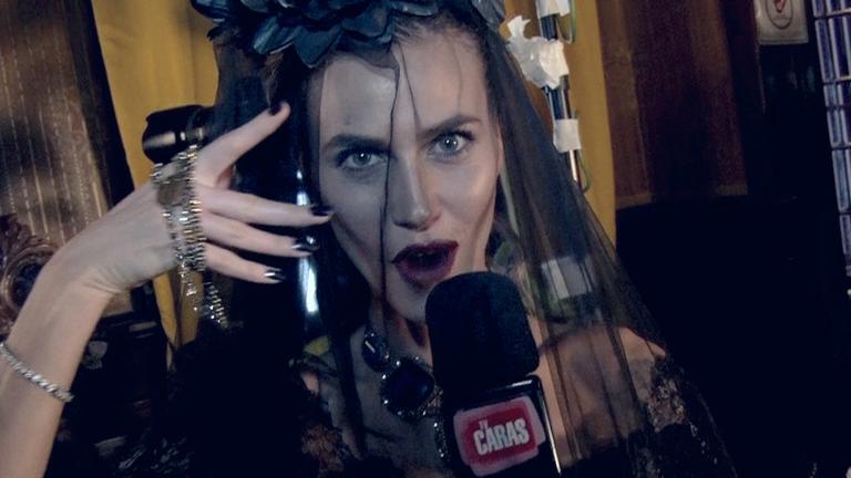 CARAS Fashion: making of da top Renata Kuerten em ensaio noir