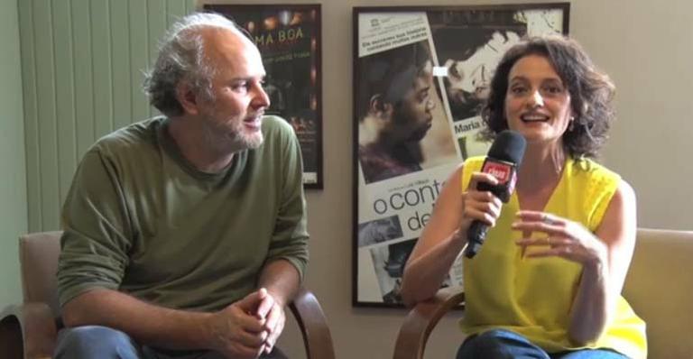 Denise Fraga e Luiz Villaça relembram parceria na tela