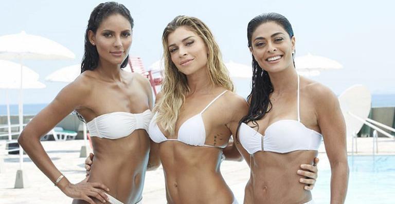 De biquíni, Grazi Massafera, Juliana Paes e Emanuela de ...
