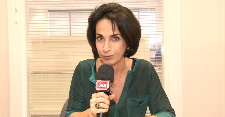 Claudia Matarazzo: compostura na festa da firma
